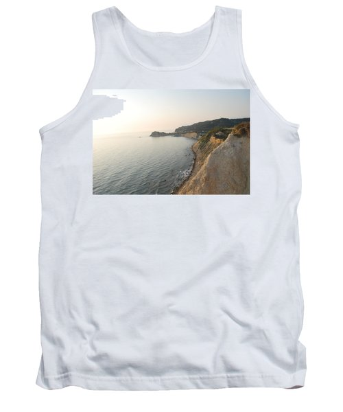 Tank Top featuring the photograph Sunset Gourna by George Katechis