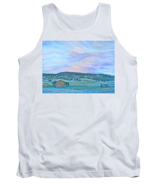 Sunset Over Table Mountain Tank Top