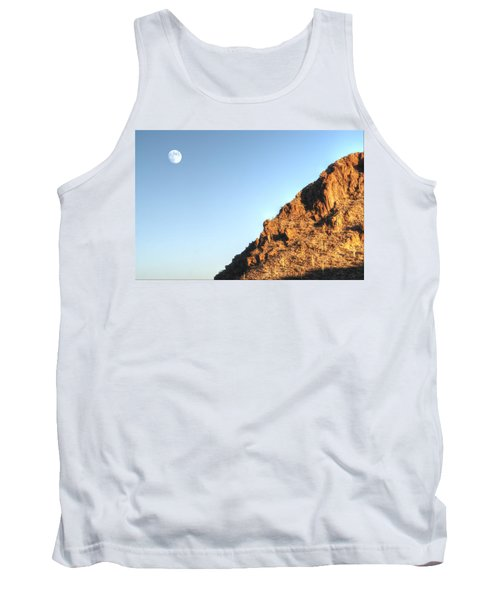 Tank Top featuring the photograph Superstition Mountain by Lynn Geoffroy