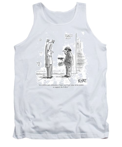 Support The Nra Tank Top