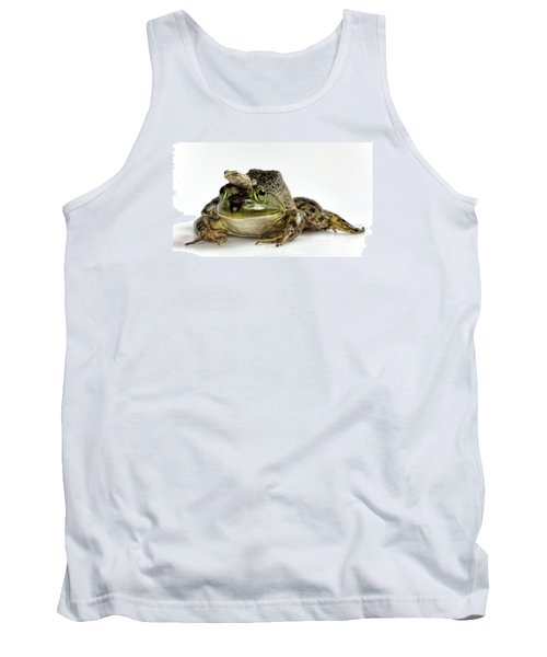 Support Your Friends Tank Top by John Crothers