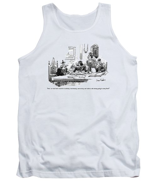 Sure, We Need More Research In Alchemy Tank Top