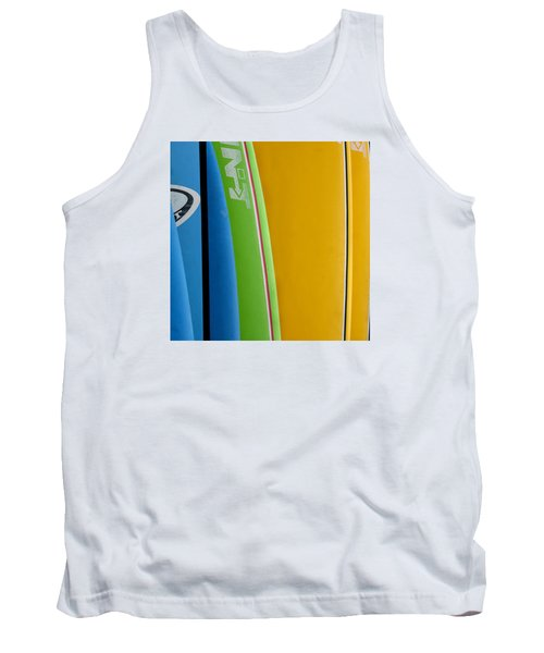 Surf Boards Tank Top by Art Block Collections