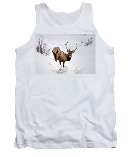 Tank Top featuring the photograph Surviving by Jeremy Rhoades