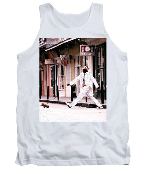 New Orleans Suspended Animation Of A Mime Tank Top