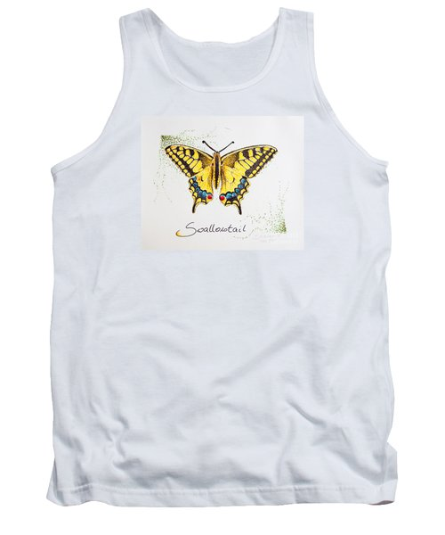 Swallowtail - Butterfly Tank Top by Katharina Filus