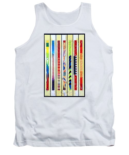 Sweeping Gesture Tank Top by Thomas Gronowski