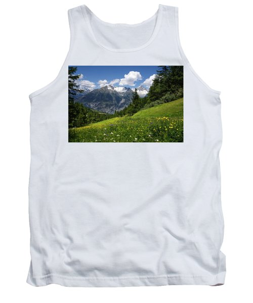 Switzerland Bietschhorn Tank Top