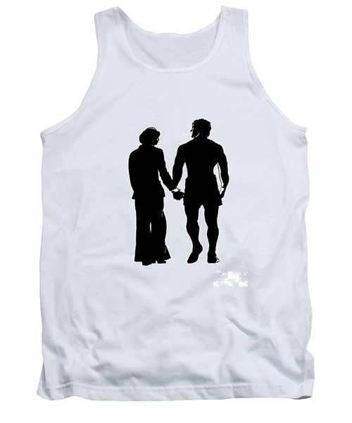 Sylvester Stallone And Talia Shire In Rocky Tank Top