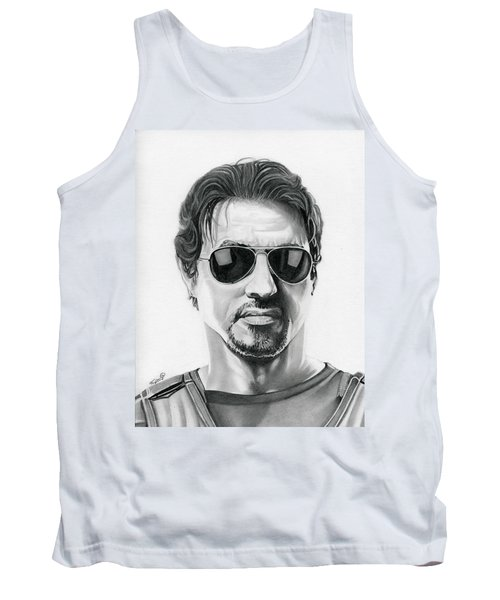 Sylvester Stallone - The Expendables Tank Top