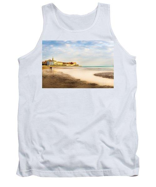 Take A Walk At The Beach Tank Top