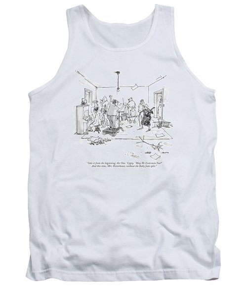 Take It From The Beginning. Act One. 'gypsy.' Tank Top