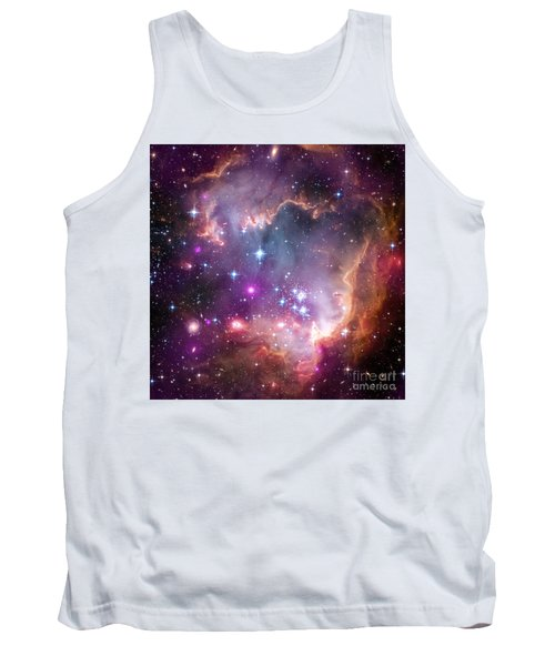 Tank Top featuring the  Taken Under The Wing Of The Small Magellanic Cloud by Paul Fearn