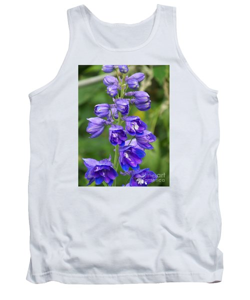 Tank Top featuring the photograph Tall Garden Beauty by Eunice Miller