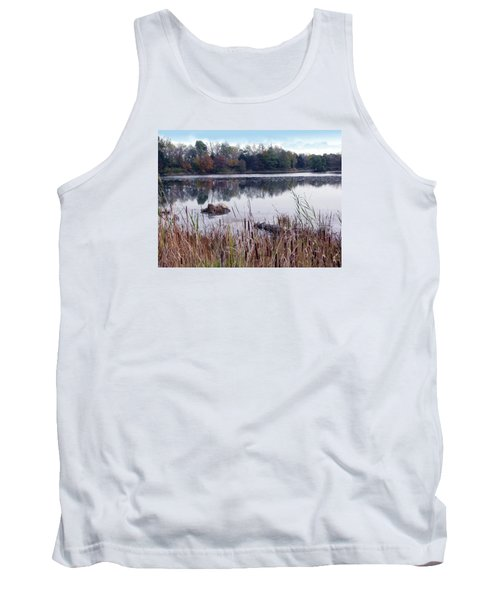 Tallgrass At Lake Katherine Tank Top by Cedric Hampton