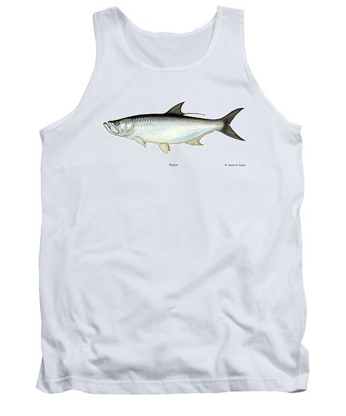Tarpon Tank Top by Charles Harden