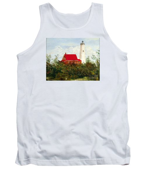 Tank Top featuring the painting Tawas by Lee Piper