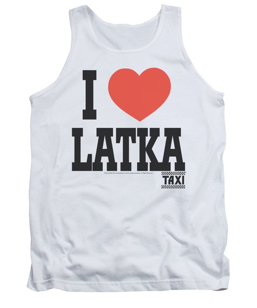 Taxi - I Heart Latka Tank Top