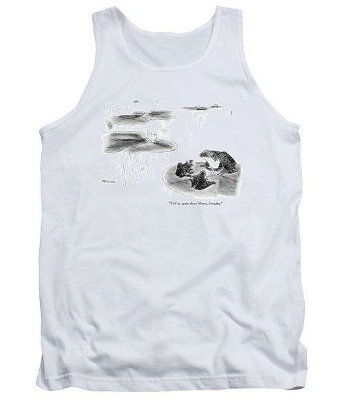 Tell Us Again About Monet Tank Top