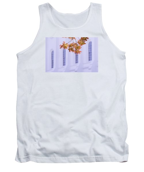 Temple Accent Tank Top