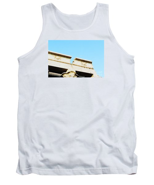 Tank Top featuring the photograph Temple At Luxor by Cassandra Buckley