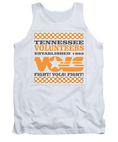 Tennessee Volunteers Fight Tank Top by Debbie Karnes