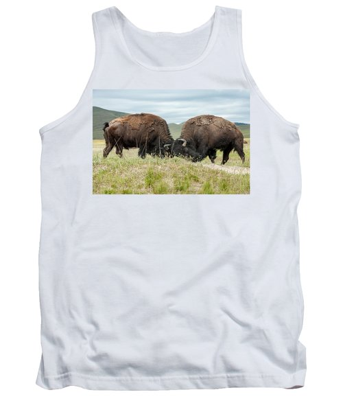Tank Top featuring the photograph Test Of Strength by Jack Bell