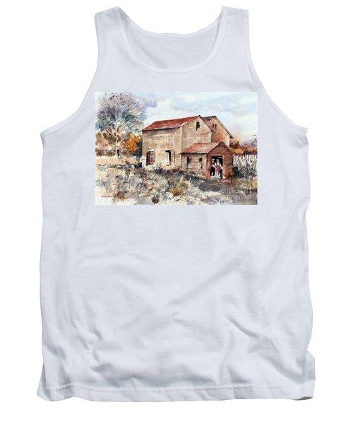 Texas Barn Tank Top