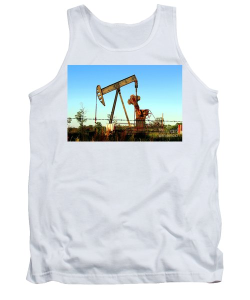 Texas Pumping Unit Tank Top
