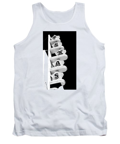 Tank Top featuring the photograph Texas Theater by Darryl Dalton