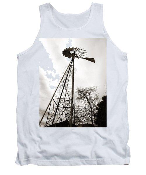 Texas Windmill Tank Top