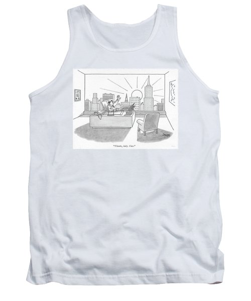 Thanks, Baby. Ciao Tank Top