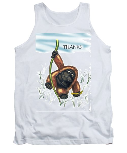 Thanks Tank Top by Jerry Ruffin