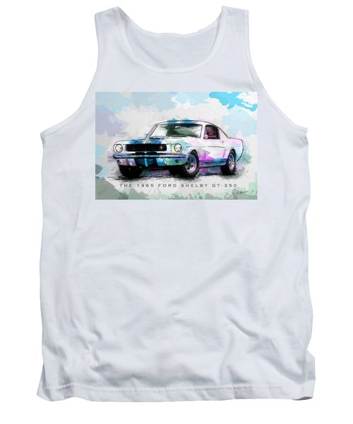 The 1965 Ford Shelby Gt 350  Tank Top