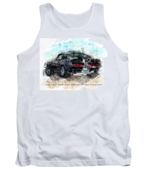 The 1967 Shelby Gt-500 Eleanor Tank Top