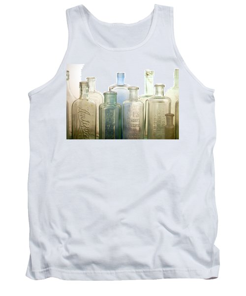 The Ages Reflected In Glass Tank Top by Holly Kempe