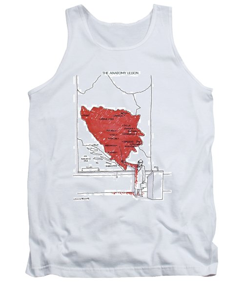 The Anatomy Lesson Tank Top