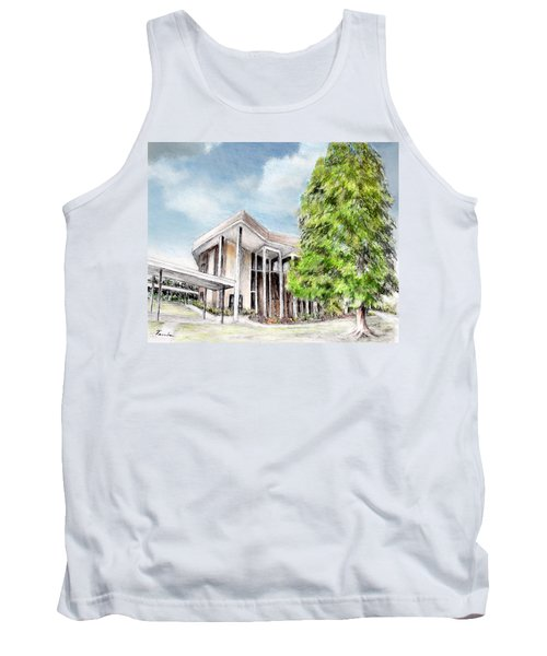 The Angles Of A Modern Architecture  Tank Top by Danuta Bennett