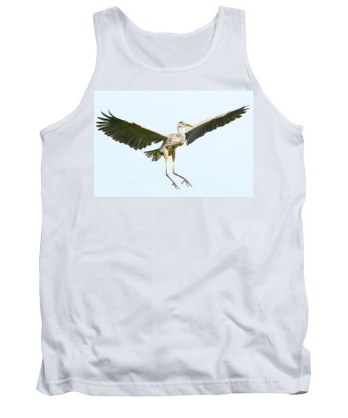 Tank Top featuring the photograph The Arrival by Heather King