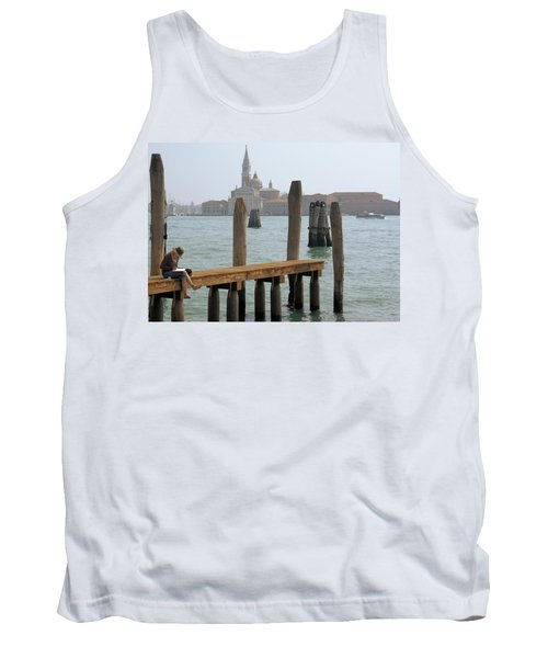 The Artist Tank Top by Ron Harpham