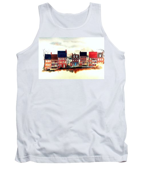 The Back Of The Strand Tank Top
