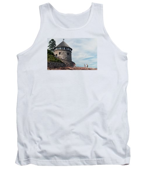 The Bath House On Ministers Island Nb Tank Top