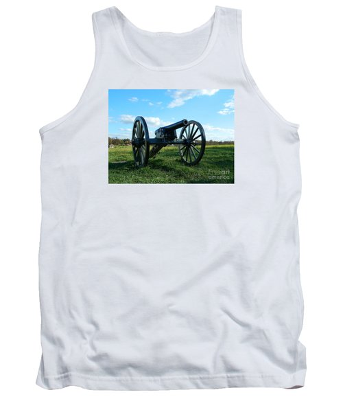 Tank Top featuring the photograph The Battle Is Over - Gettysburg by Emmy Marie Vickers