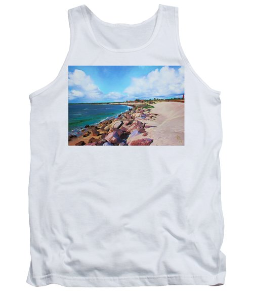 The Beach At Ponce Inlet Tank Top