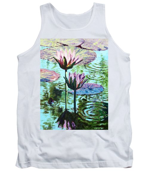 The Beauty Of The Lilies Tank Top by John Lautermilch