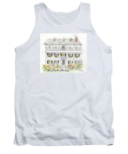 The Beekman Arms In Rhinebeck Tank Top by AFineLyne