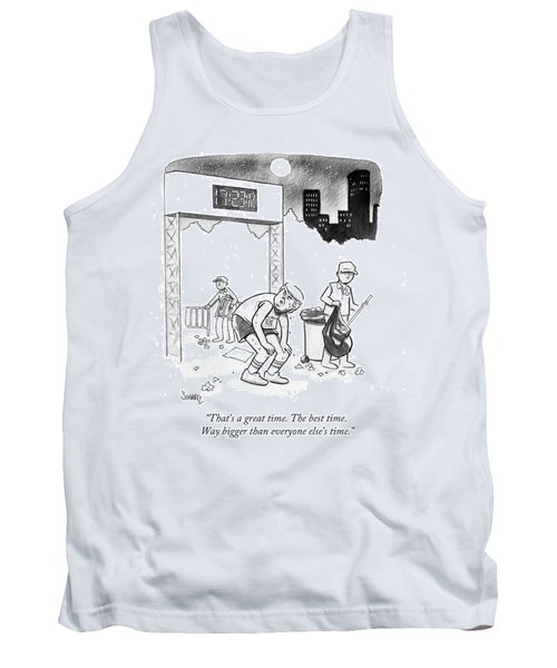 The Best Time Tank Top