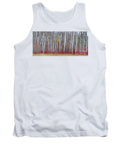 The Birches Panorama  Tank Top