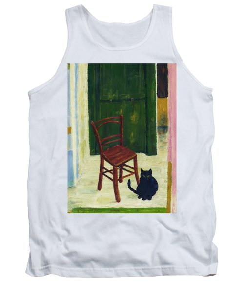 The  Black Cat Tank Top