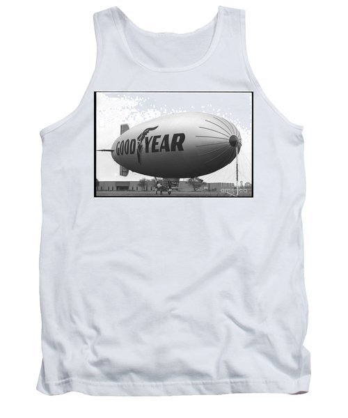 The Goodyear Blimp In 1979 Tank Top